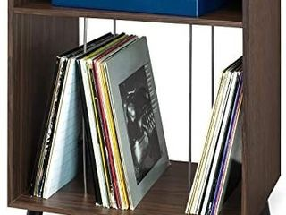 Victrola Entertainment Stand With Record Holder  Expresso  Retails 89 99
