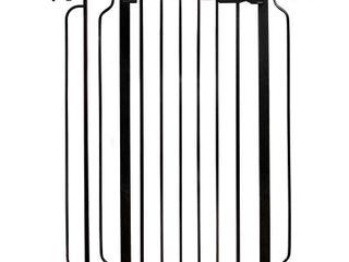 Regalo Easy StepAr Extra Tall Walk Thru Baby Gate Black  Retails 46 99