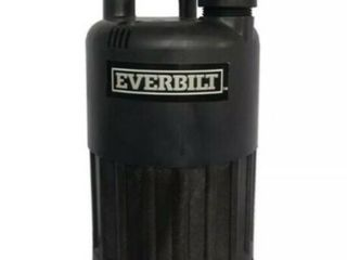 Everbilt Pump Waterfall Submersible Thermoplastic Threaded Male Durable 4 10 Hp Retail   69 99