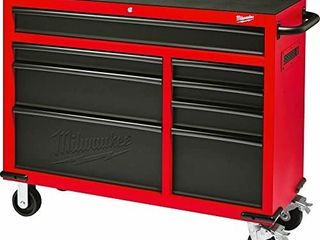 Milwaukee 47in 8 Drawer Rolling Tool Box Retail   840 00