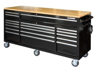 Husky 72in 18 Drawer Workbench Retail   849 00