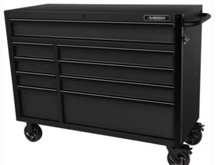 Husky 52in 9 Drawer Bottom Tool Cabinet Retail   649 00