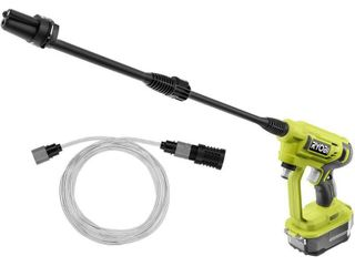 RYOBI ONE  18 Volt 320 PSI 0 8 GPM Cold Water Cordless Power Cleaner  Tool Only  Retail   79 97