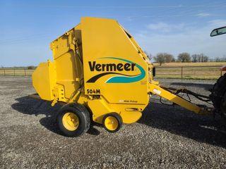 Vermeer 504M baler  13k bales