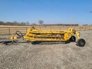 Vermeer r23 hydraulic basket rake