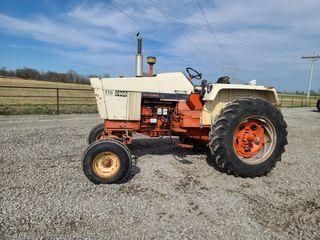 Case 770 diesel tractor