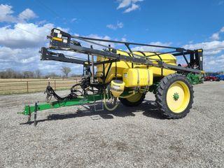 2009 Best Way 1600 gallon sprayer  90  booms