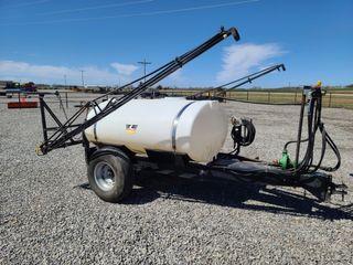 Wylie 500 gallon sprayer