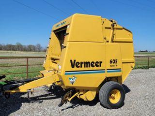 Vermeer 605K baler  5700 bales