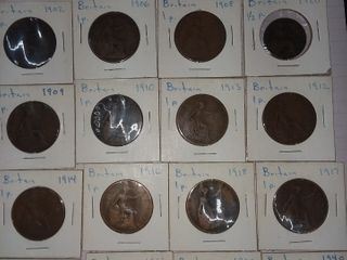 COINS-FURNITURE-GLASSWARE..