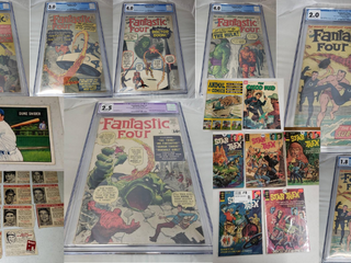 Vintage Comic Books, Stamps, Baseball Cards, MTG, and Collectibles