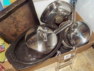 Pots  Pans   1 box