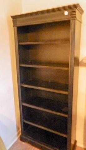 Black shelf  6 shelves