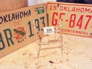 Oklahoma Car Tags  2