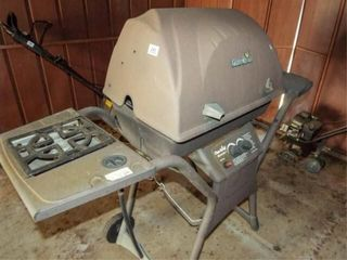 Char Broil Grill  with burner