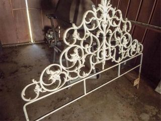 Cast Iron Metal Headboard