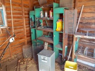 Contents of Small Shed