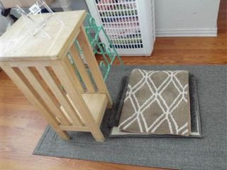 Table  Rugs  Shoe Holder