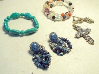 Bracelets  Earrings  Necklace