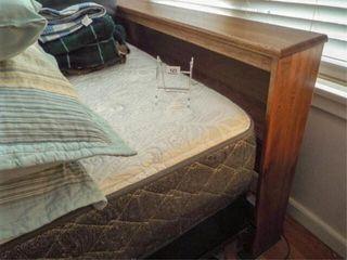 Queen Bed Frame  Headboard