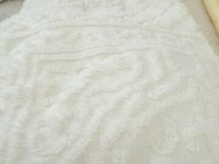 Chenille Bedspread with Fringe