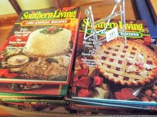 Cookbooks  Southern living     1 box