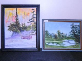 Hand painted pictures  2