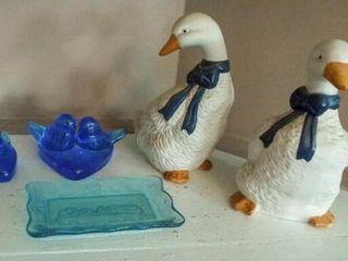 Ducks  Blue Birds  Blue Plate  5