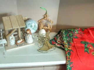 Christmas Ornaments  Decor  Apron