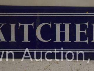 Kitchen  SSP sign