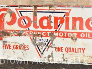 Polarine ssp advertising sign