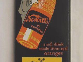 Nesbitt s vertical tin advertising thermometer