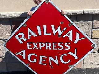 Railway Express Agency SSP sign