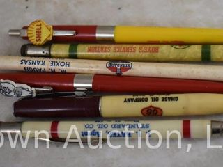 5  Advertising pen  mechanical pencils and  1  pencil