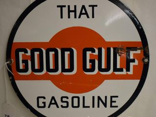 That s Good Gulf Gasoline ssp 10 5 d sign