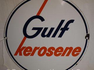 Gulf Kerosene ssp 10 5  sign