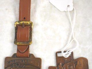 2  Watch fobs  Allis Chalmers  Galion Equipment