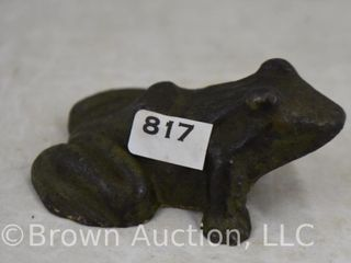 Beard Foundry and Machine Works frog paperweight