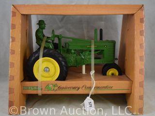 Ertl 40th Anniversary Commemorative John Deere tractor