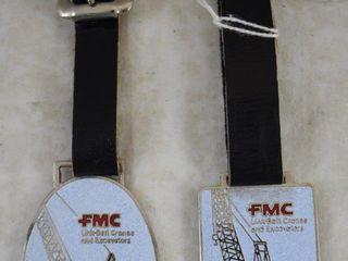 2  FMC watch fobs