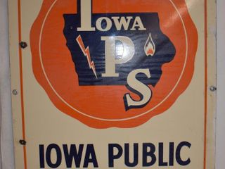 Iowa Public Service Co  SSP sign