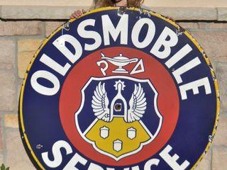 Oldsmobile Service ssp sign