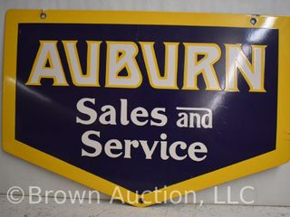 Auburn Sales and Service ssp advertising sign