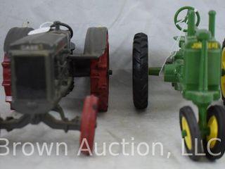 2  Ertl Die Cast tractors