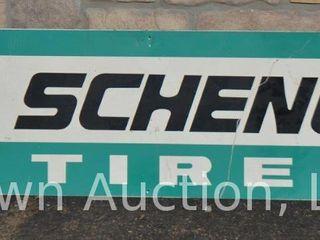 Schenhuit Tires SST sign