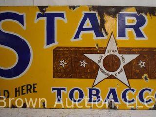 Star Tobacco SSP advertising sign