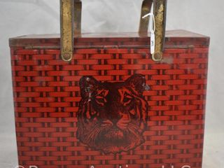 Tiger Chewing Tobacco lunch box