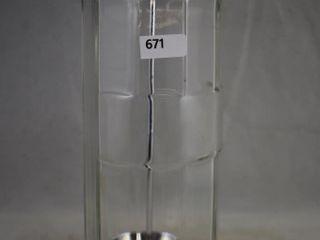 Soda fountain glass straw dispenser
