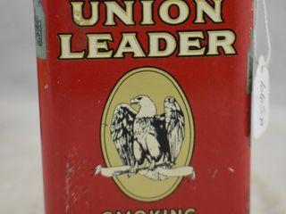 Union leader tobacco pocket tin