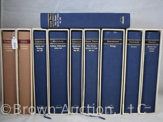 10  The library of America books